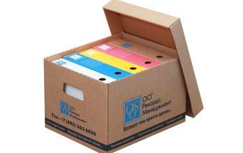 Архивные короба для документов, контейнеры для дисков и лент